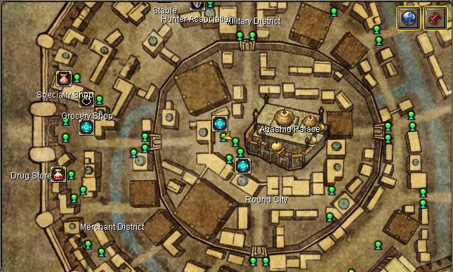 Palace Guard Alim ubicacion silkroad