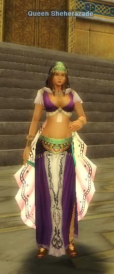 Queen Sheherazade silkroad latino