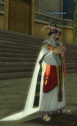 King Shahryar silkroad latino