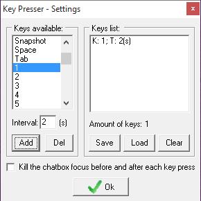 iTools Se Silkroad keypreser 2