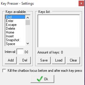iTools Se Silkroad keypreser